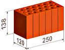 размеры строительного кирпича