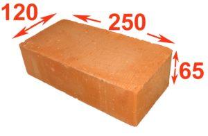 размер строительного кирпича